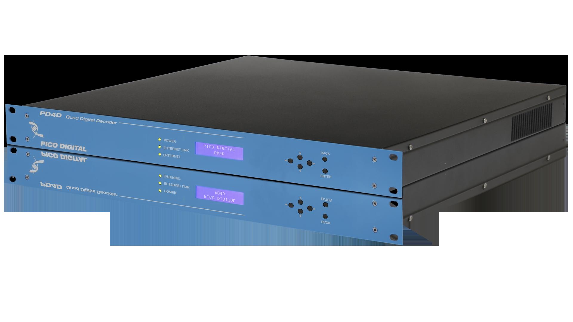 PD4D: Quad Digital Input MPEG-4/2 Decoder - ATX Networks
