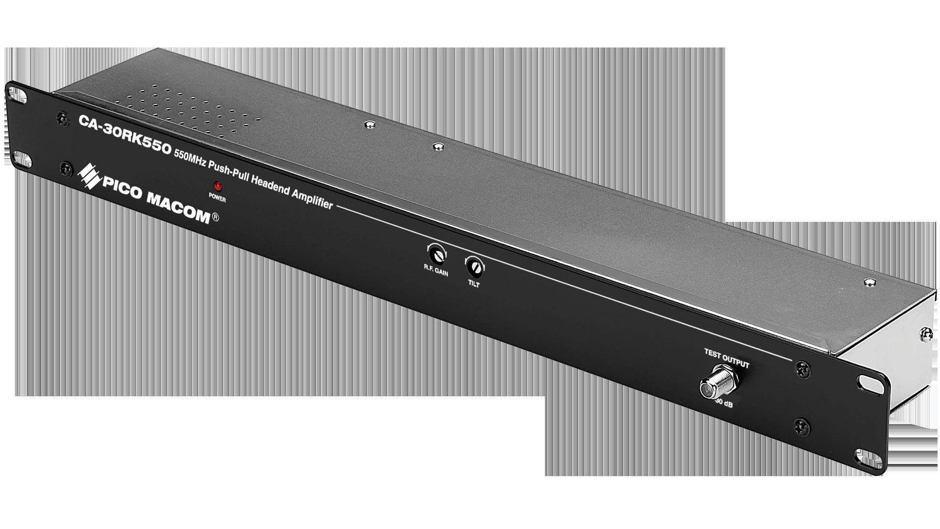 CA-30RK550: 550MHz Push-Pull Headend Amplifier - ATX Networks