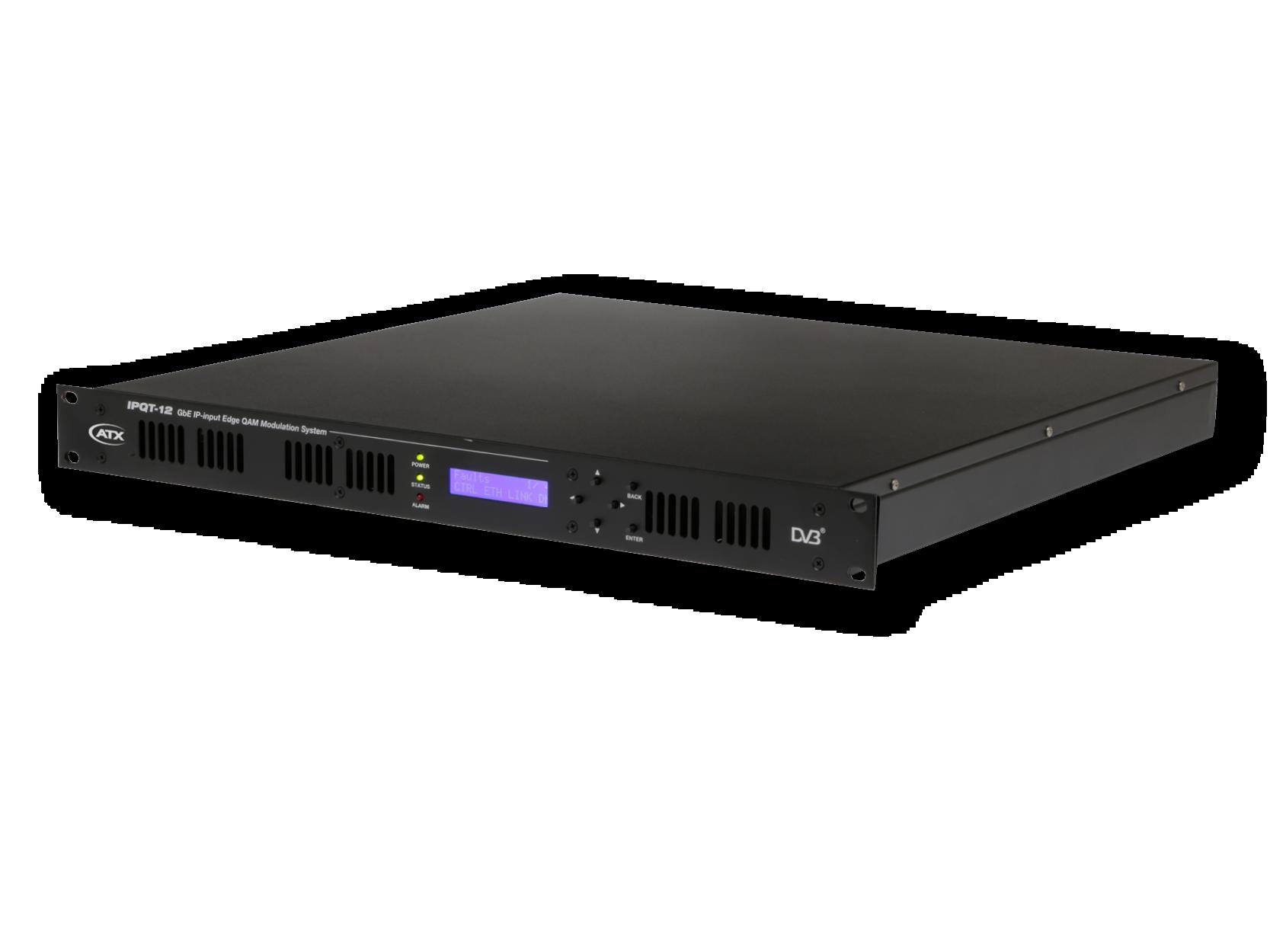 Ipqt 12 Gbe Ip Input Edgeqam Modulation System Atx Networks Power Inserters Couplers Rlh Industries